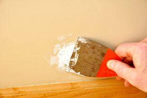 déménagement - remise en état boucher trous murs
