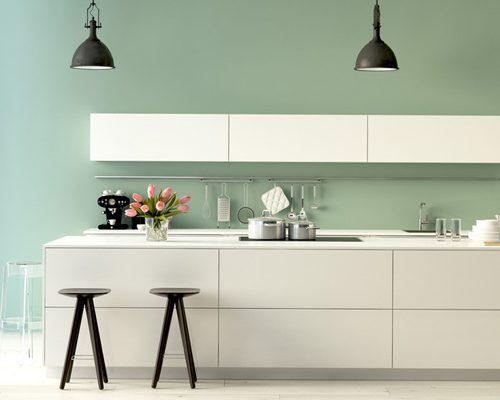 Choisir couleurs murs peinture cuisine