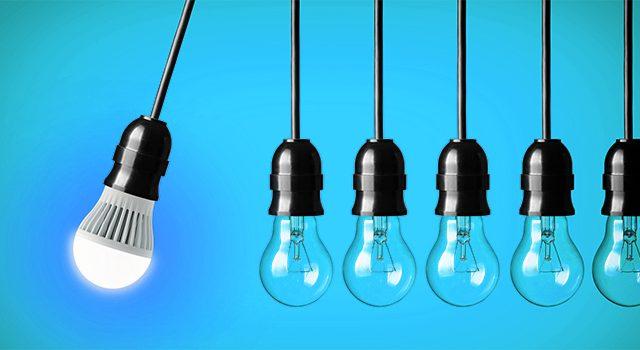 Installation éclairage LED