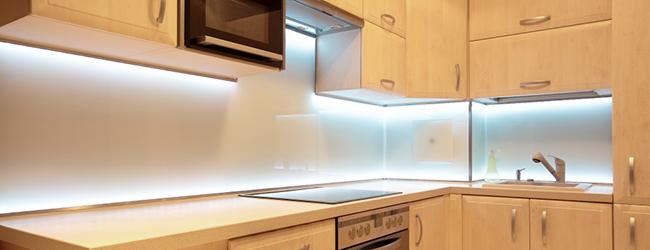 Éclairage LED cuisine
