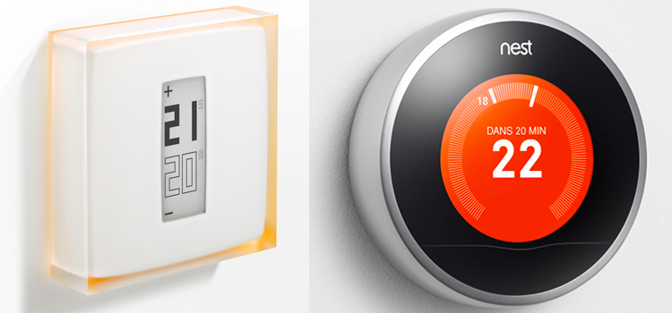 domotique, thermostat connecté : Nest - Netatmo