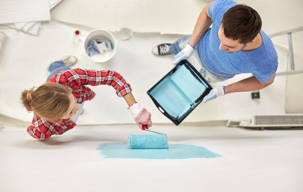 peindre mur et plafond soi-même