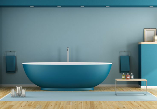 Choix des peintures salle de bains