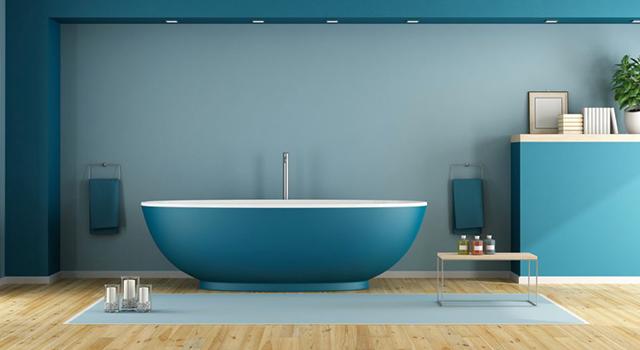 Repeindre sa salle de bains, choix des peintures