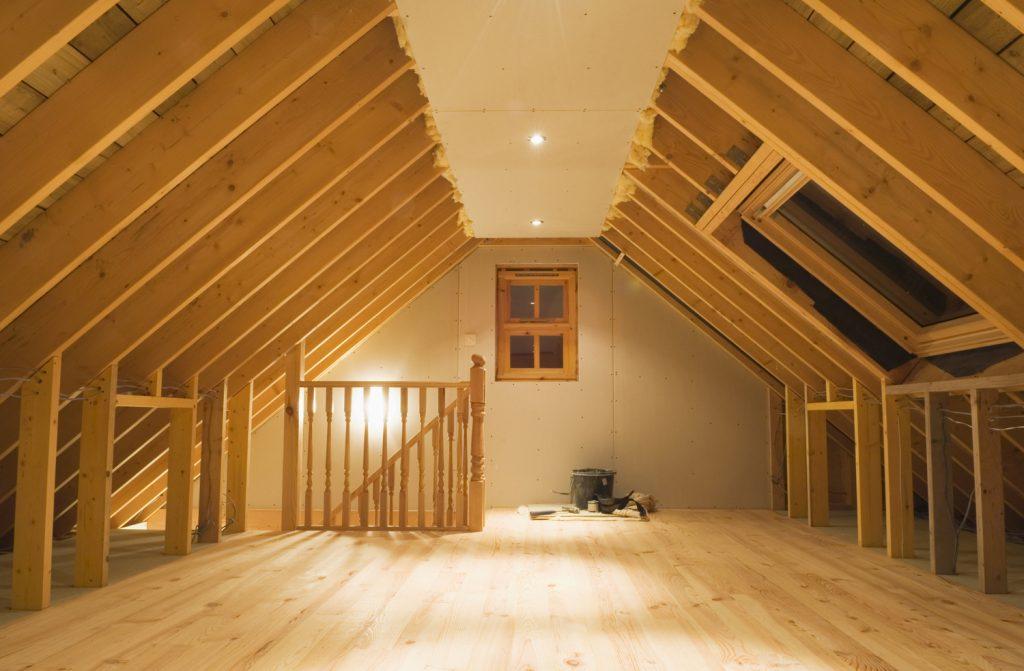 Aménager les combles, le grenier et la pièce sous toit