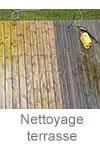 Nettoyage de printemps : terrasse