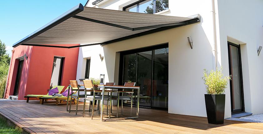 Aménager son extérieur et extérieur store banne terrasse