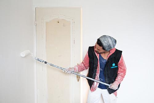 Remise en état logement - Coup de blanc rafraichissement peinture