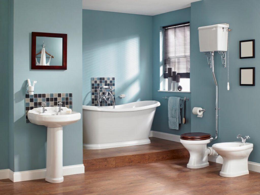 Aménagement salle de bains - le choix des couleurs