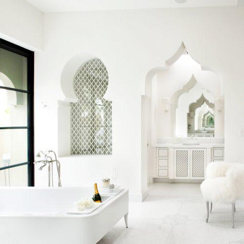 ambiances salle de bains, marocaine