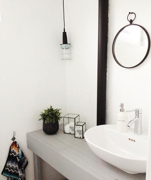 salle de bains rectangulaire