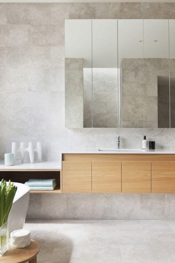 idée carrelage salle de bains - revetement-sols-salle-de-bains-beton-cire