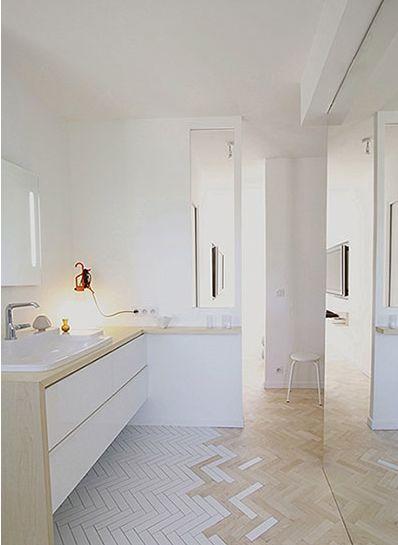 idée carrelage salle de bains - revetement-sols-salle-de-bains-sols-différents