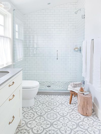 idée carrelage salle de bains - revetement-sols-salle-de-bains-carreaux-de-ciment
