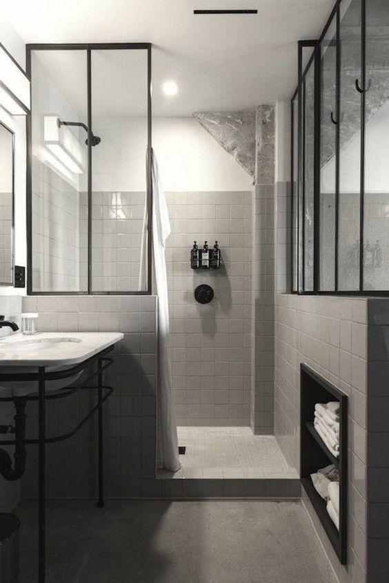rev tement mural pour salle de bains quelques id es d co. Black Bedroom Furniture Sets. Home Design Ideas