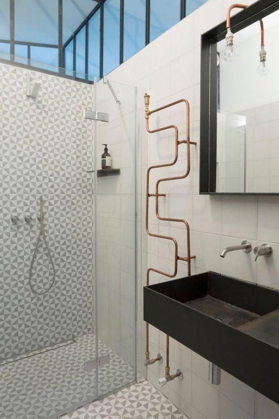 La salle de bains design : inspiration et tendances 2018