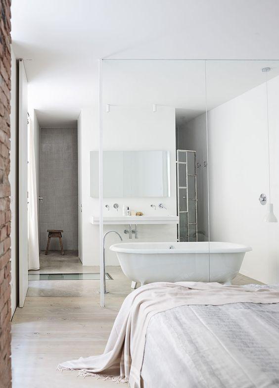 salle de bains design suite parentale