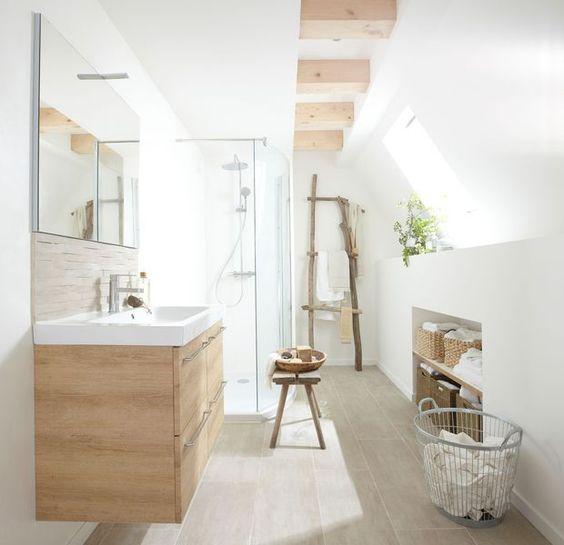 salle de bains moderne mobilier