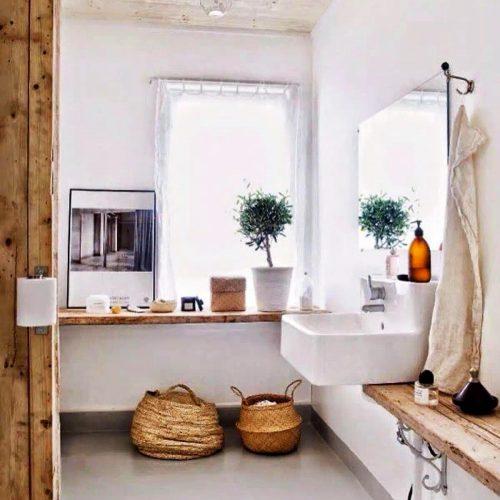 ambiances salle de bains, scandinave