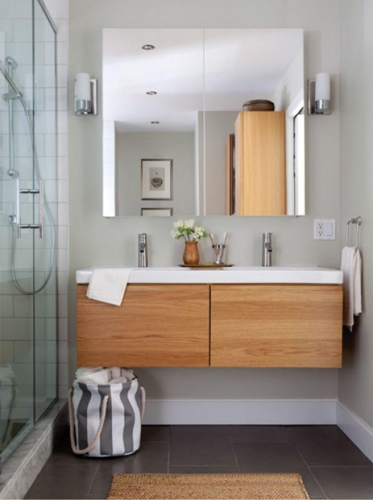 déco meubles de salle de bains - meubles suspendus