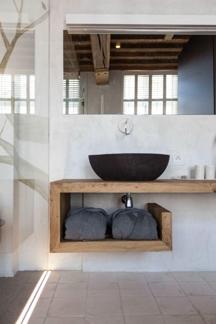 déco meubles de salle de bains - petit meuble vasque