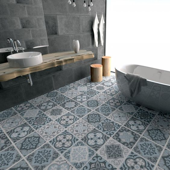 rénovation salle de bains - revêtement du sol