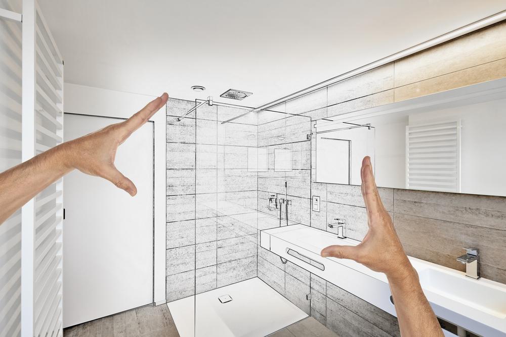 rénovation salle de bains - penser son agencement