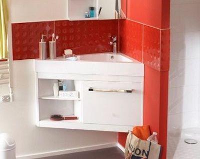 déco meubles de salle de bains - meuble d'angle
