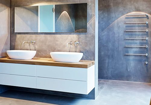 revêtement mural pour salle de bains : quelques idées déco