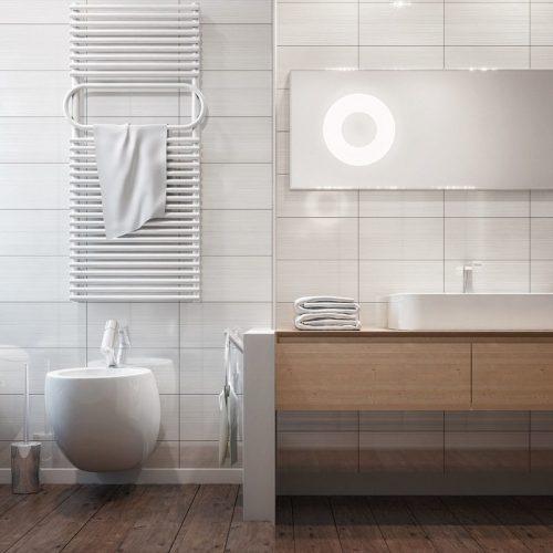 Salle de bain rectangulaire