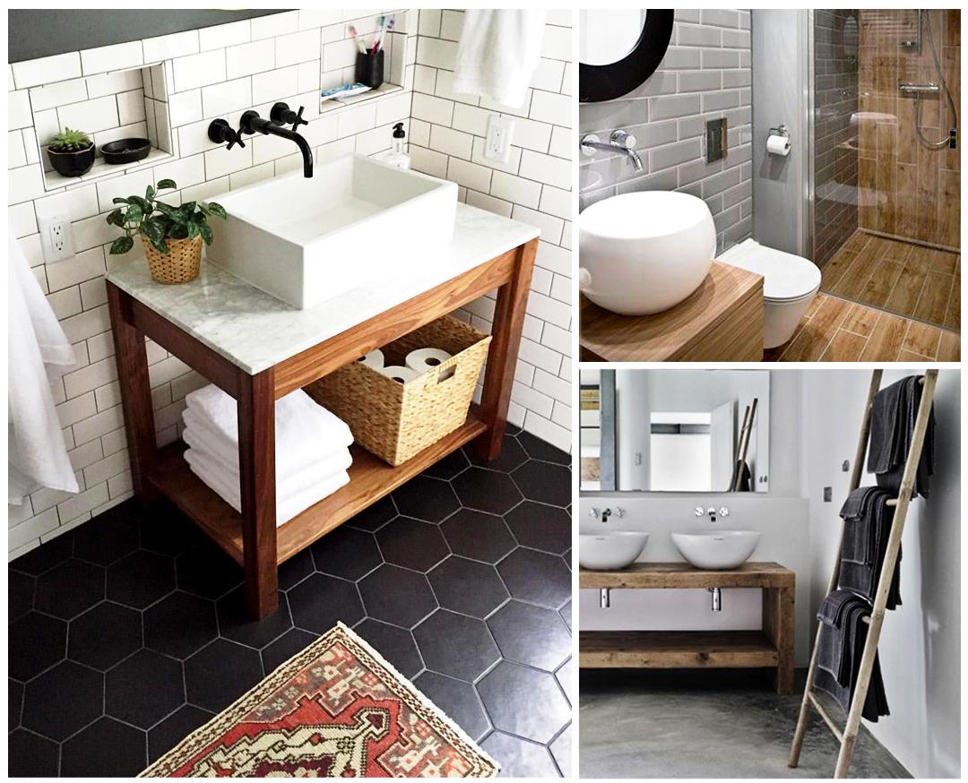 Idées salle de bains - Les tendances déco