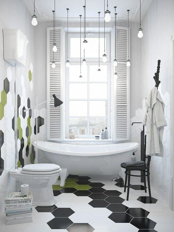 applique salle de bains luminaire