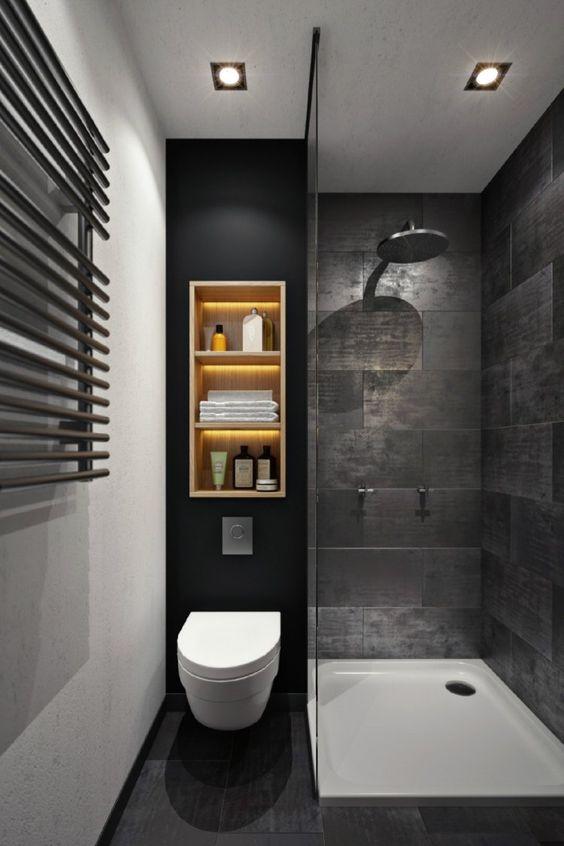 applique salle de bains douche italienne