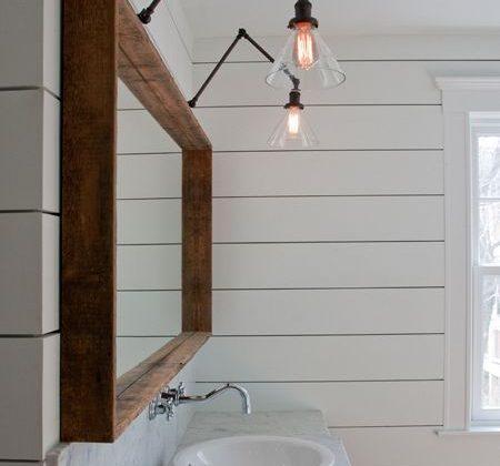 applique style industriel salle de bain
