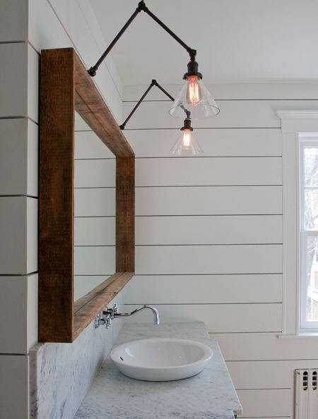 applique salle de bains industriel