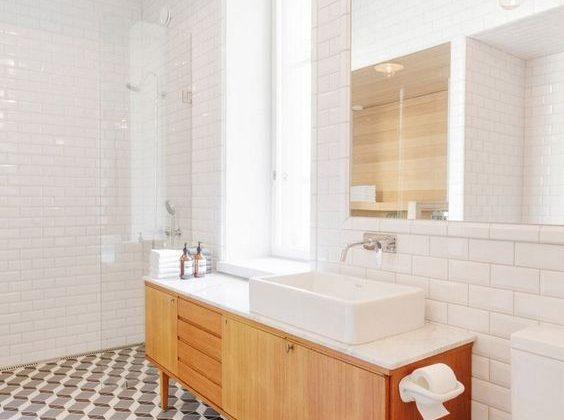 appliques vintage salle de bain