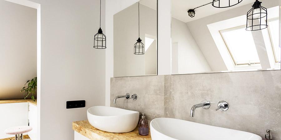 applique salle de bains et autres clairages que choisir. Black Bedroom Furniture Sets. Home Design Ideas