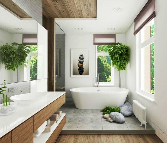Salle de bains zen : inspirations et idées déco pour bien l ...