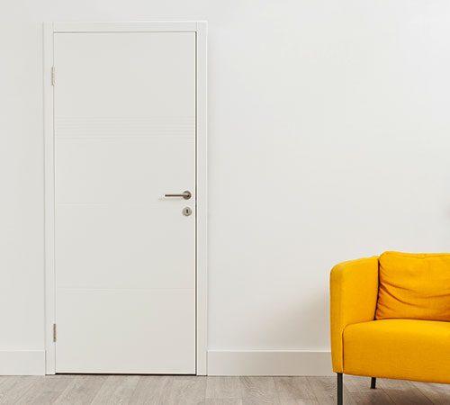 Porte sur mur porteur IPN