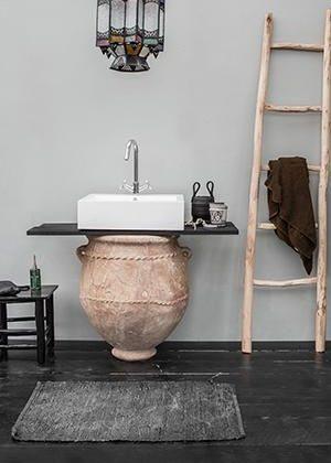 accessoires salle de bain orientale