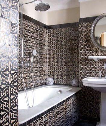 carrelage salle de bain marocaine