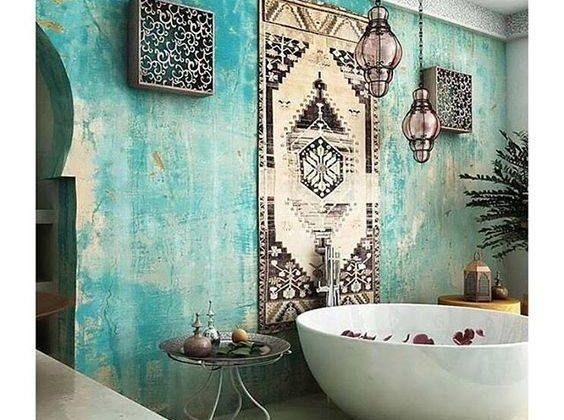 salle de bain marocaine