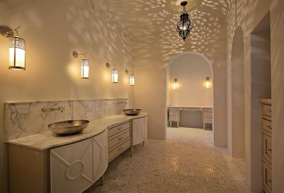 Salle De Bains Marocaine Lumière