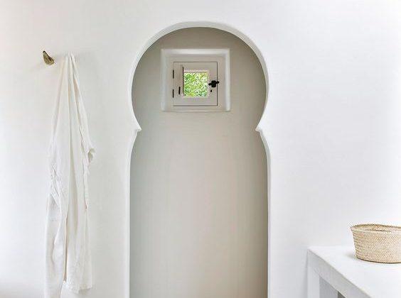 porte salle de bain marocaine