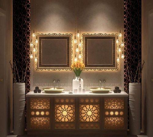 salle de bains marocaine