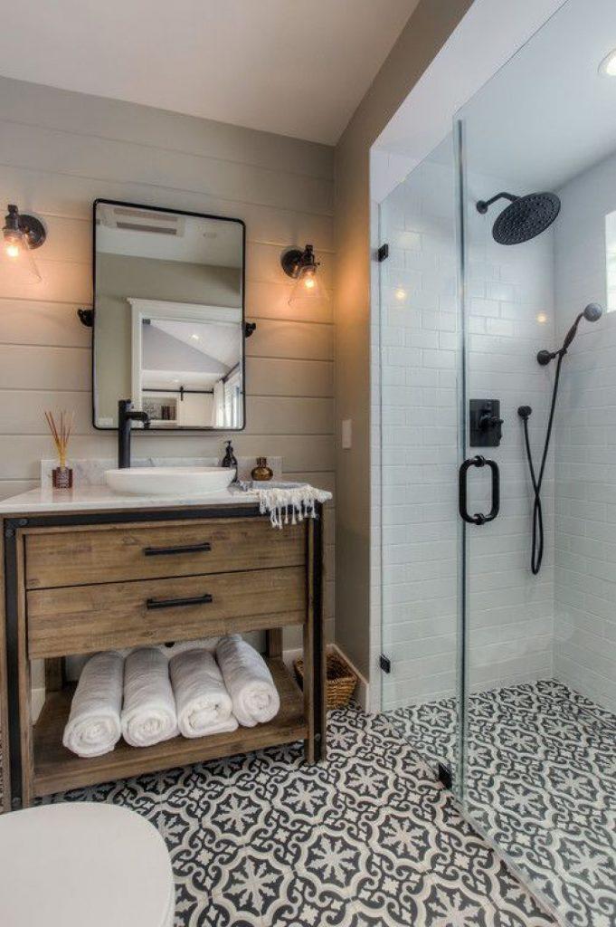 douche ou baignoire - douche à l'italienne