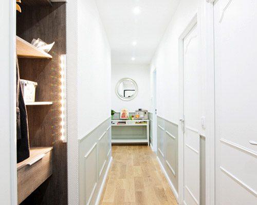 Travaux appartement - Rénovation avant/après