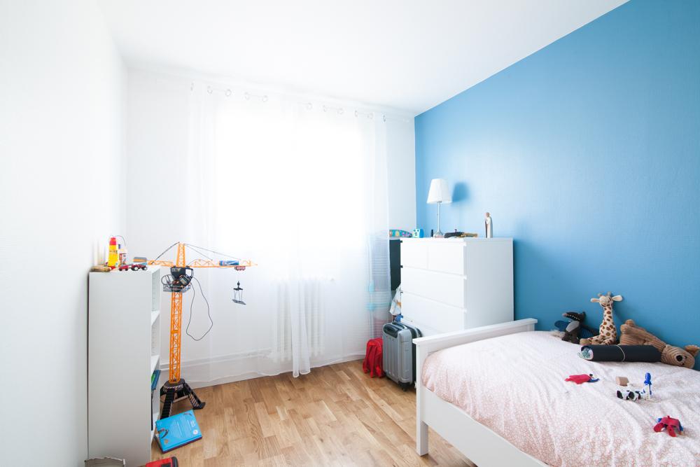 Travaux de rénovation d'appartement - Chambre d'enfant