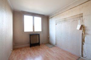 Travaux rénovation appartement - La chambre d'enfant avant