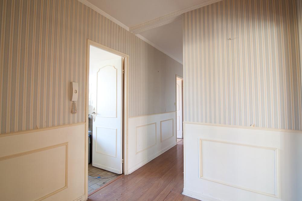 Travaux de rénovation de l'appartement: le couloir avant